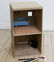 our_children's_gorilla_recyclable_cardboard_dollhouse_interior_finished